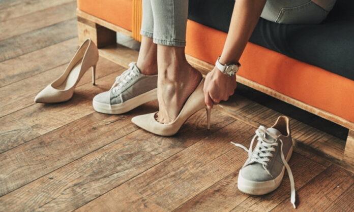 หน้าเท้ากับการเลือกรองเท้า